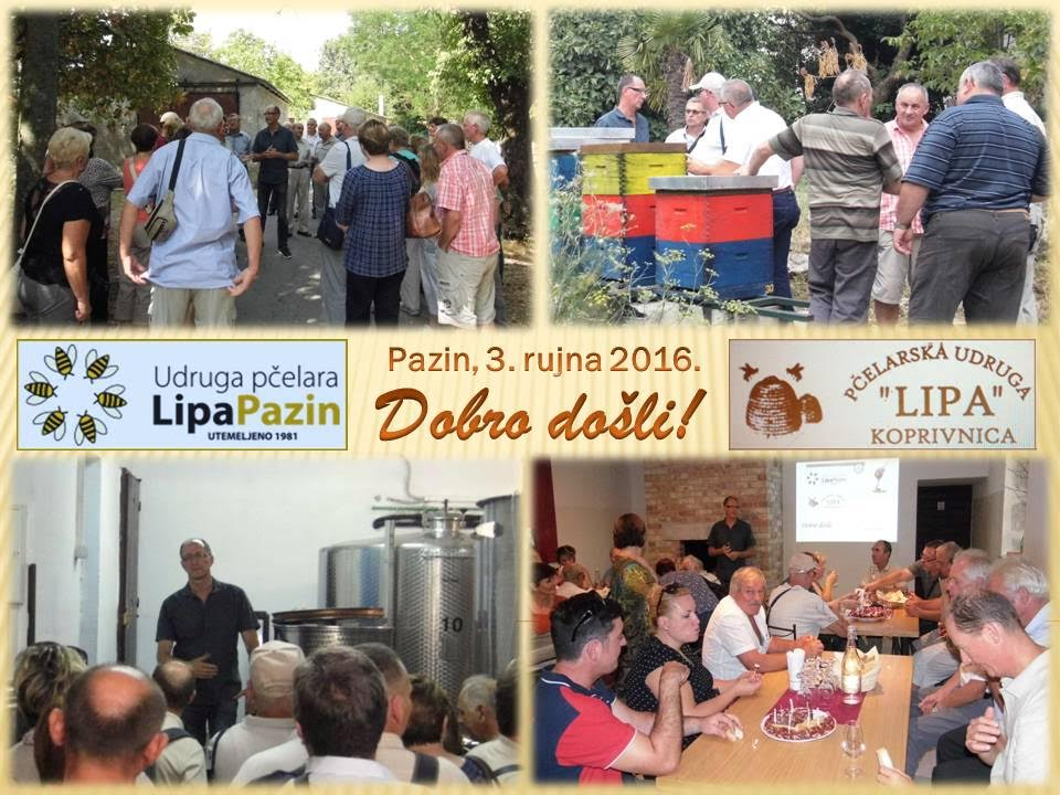 Pčelari iz Koprivnice u posjeti kolegama iz Pazina